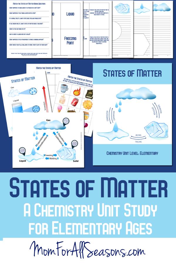 States of Matter Chemistry Study
